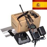 5ra uv השחור החדש Baofeng UV 5RA + פלוס מכשיר קשר 136-174 & 400-520MHz שתי דרך רדיו מניות בספרד-ספינה במכתב בלבד 3 ימים קבלו (1)