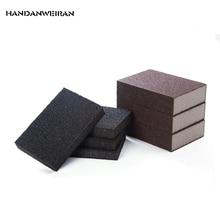 Купить с кэшбэком 2pcs nano black sponge  magic magic power  clean cleaning  melamine  Magic Eraser  emery sponge  wash pan  wipe