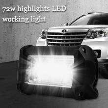 Lámparas LED Para coches, coches, motocicletas, excavadoras, ingeniería, vehículos, focos auxiliares, Luces de trabajo, Luces Led Para Auto