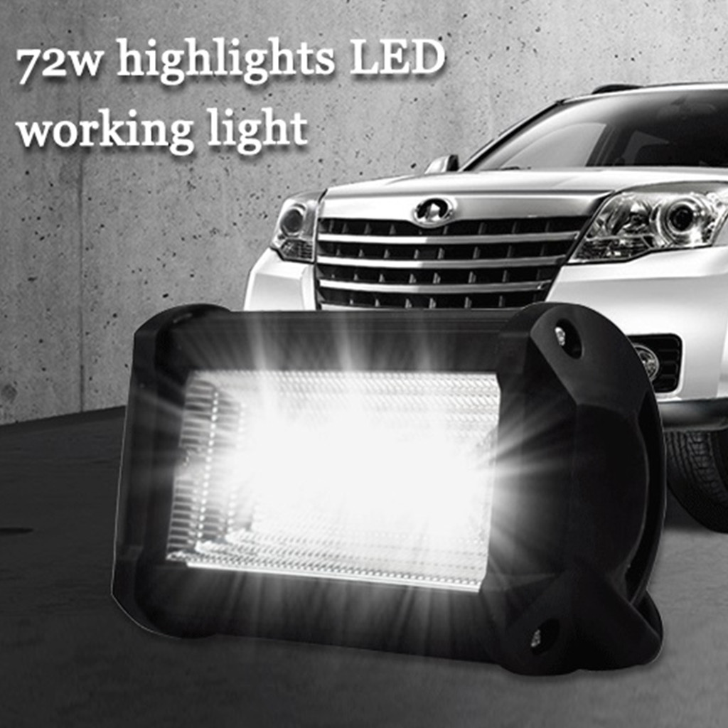 LED Lamps For Cars Auto And Motorcycle Excavator Engineering Vehicle Auxiliary Spotlight Work Light Luces Led Para Auto-in Light Bar/Work Light from Automobiles & Motorcycles