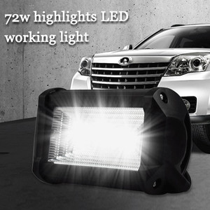 Image 1 - LED Lamps For Cars Auto And Motorcycle Excavator Engineering Vehicle Auxiliary Spotlight Work Light Luces Led Para Auto