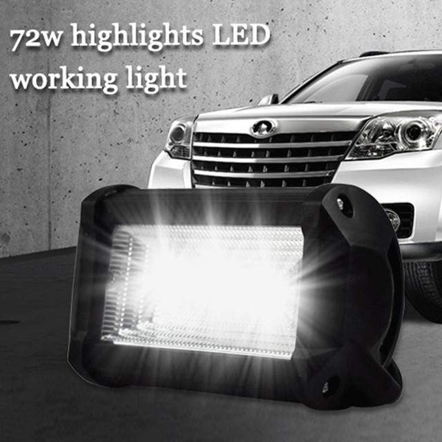 LED Lamps For Cars Auto And Motorcycle Excavator Engineering Vehicle Auxiliary Spotlight Work Light Luces Led Para Auto