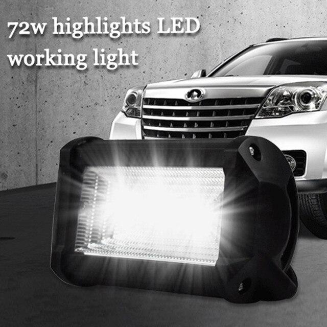 מנורות LED עבור מכוניות אוטומטי ואופנוע חופר הנדסת רכב עזר זרקור עבודת אור Luces Led Para אוטומטי