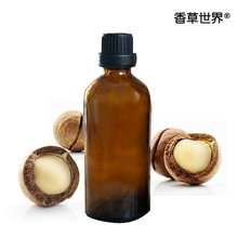 лучшая цена Australian nut oil  Free shopping Massage essential oil 100%pure plant base oils  100ml Macadamia nut oil