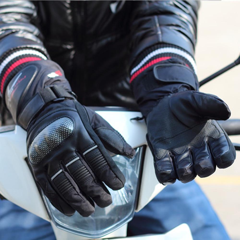 Pro-biker Guantes de invierno para motocicleta Guantes impermeables y - Accesorios y repuestos para motocicletas - foto 4