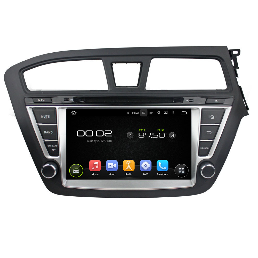 KLYDE 8 2 Din Android 8,1 автомобильный радиоприемник 2 + 16 ГБ для hyundai I20 2014 2015 RHD Автомобильный Аудио мультимедийный плеер Автомобильный стерео Зеркал