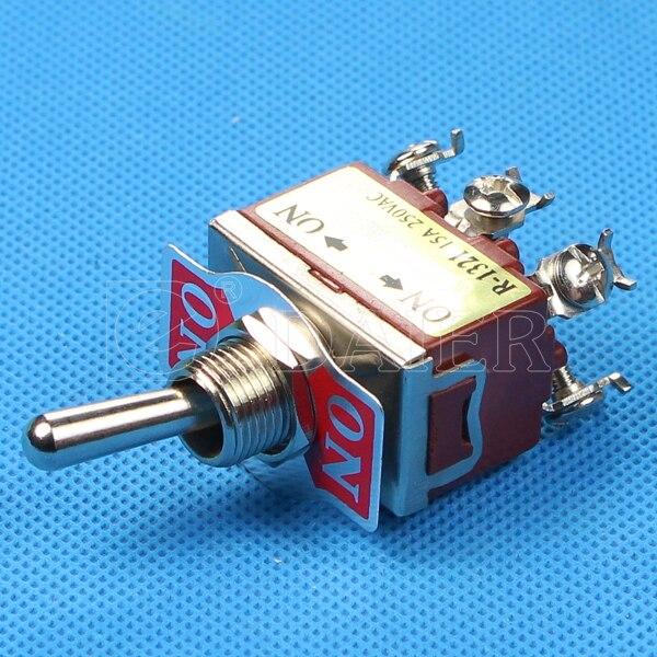 KN3C 202 Double Pole Toggle Switch 12MM 10A 250VAC 15A 125VAC 250VAC ...