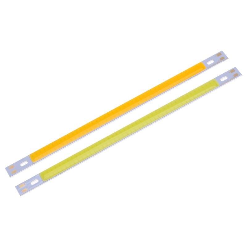 10W 1000LM COB LED Light Strip LED Panel Strip Light Bulb Lamp White/Warm White 200X10mm DIY lighting project factory Outlet
