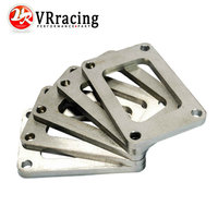 VR RACING STORE T6 GT5533R GT5541R GT6041 Small Frame Diesel Turbo Inlet TAPPED FLANGE Stainless Steel