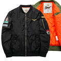 2016 brand men's bomber jackets movement of 2106 autumn winters is recreational collar jacket air force one pilot MA01 baseball