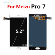 Super AMOLED For Meizu Pro 7 LCD Display with Touch Screen Digitizer For Meizu Pro 7 Pro7 LCD M792H M792Q-L Screen Replacemen for meizu mx4 pro lcd display touch screen digitizer with frame black white
