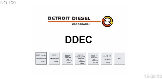 detroit diesel ddec 3 4 5 service manual in software from rh aliexpress com Detroit Diesel Logo Detroit Diesel 71 Series