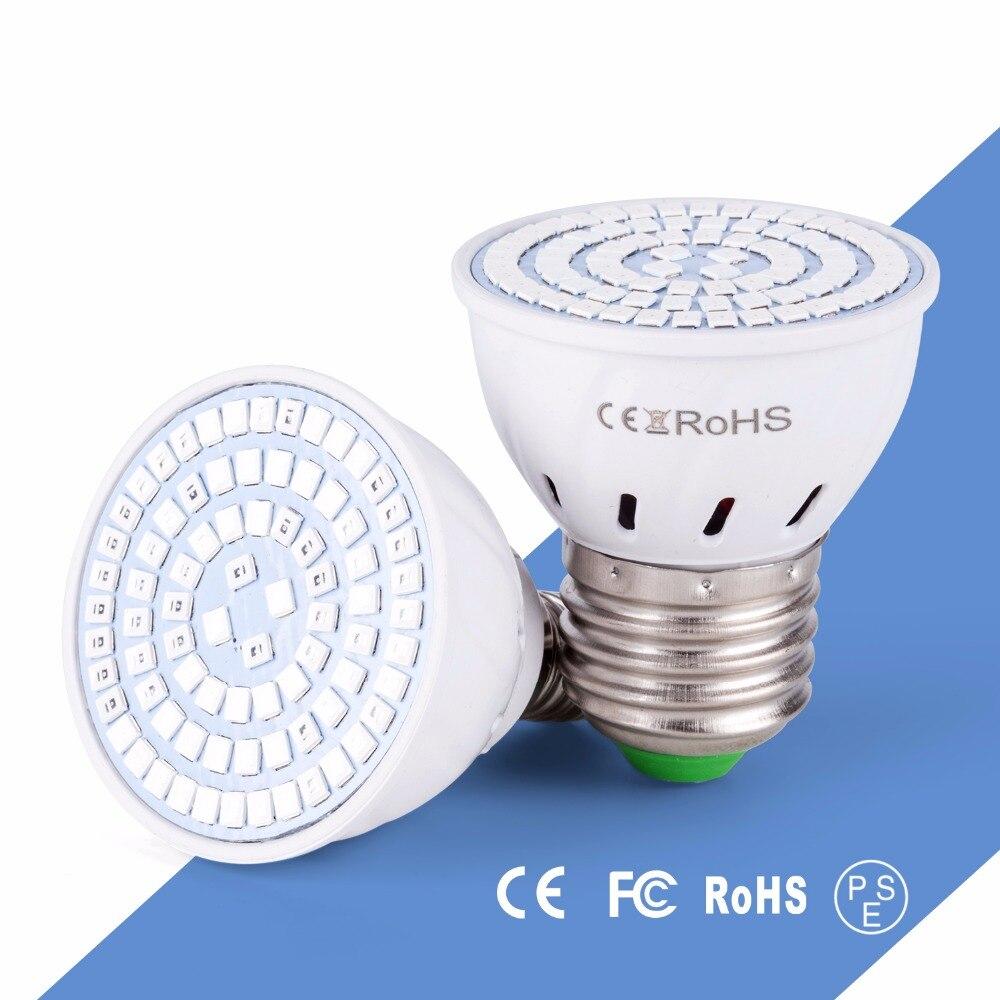 Led E14 Lamp 220V E27 Bulb Lamp Plant Greenhouse Lights for Plants Vegetable Full Spectrum Indoor Spotlight Energy Saving Lights