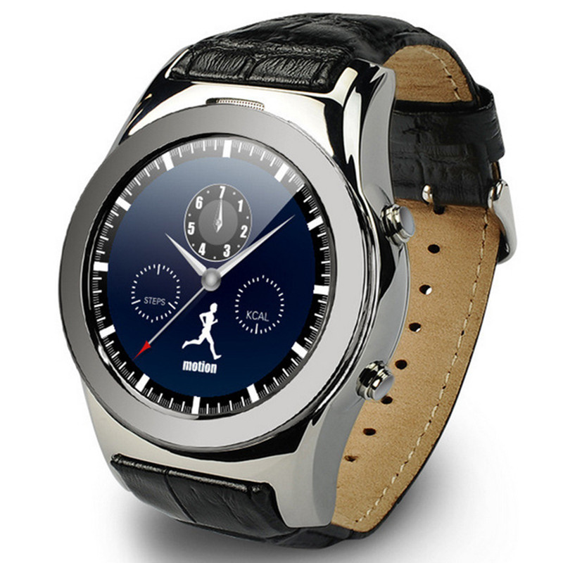 Bluetooth Anruf Smart Uhr Edelstahl Smartwatch Herz Rate Monitor <font><b>Mp3</b></font> Armband Reloj Inteligente Lphone Android Telefon image