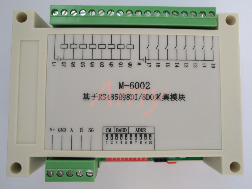 8DI/8DO Data Acquisition Module 8 Switch Input 8 Switch Output RS485 Communication