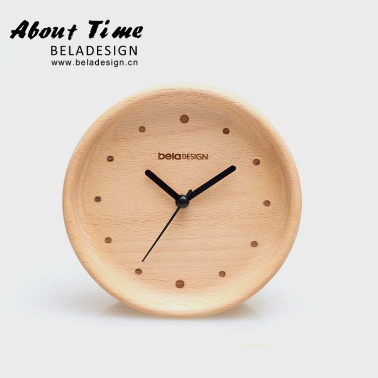 Journal beladesign mode pendule horloge muet horloge journal design original