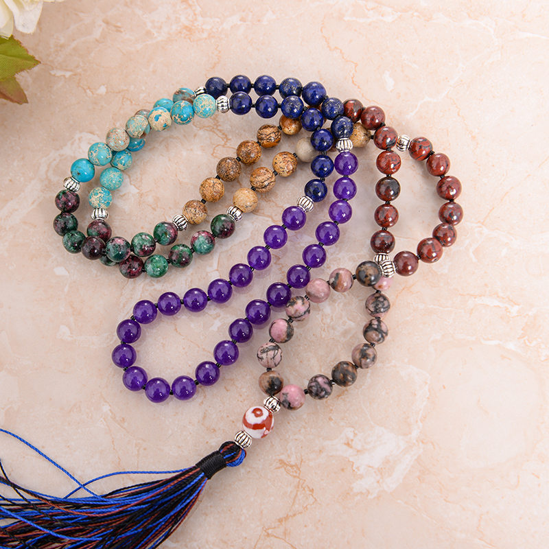 Chakra Mala Meditation Necklace
