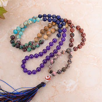 Chakra Mala Meditation Necklace