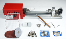 Mini DIY Metal Woodworking Lathe Miniature Buddha beads Grinding Machine Wood Cutter Polisher 280W