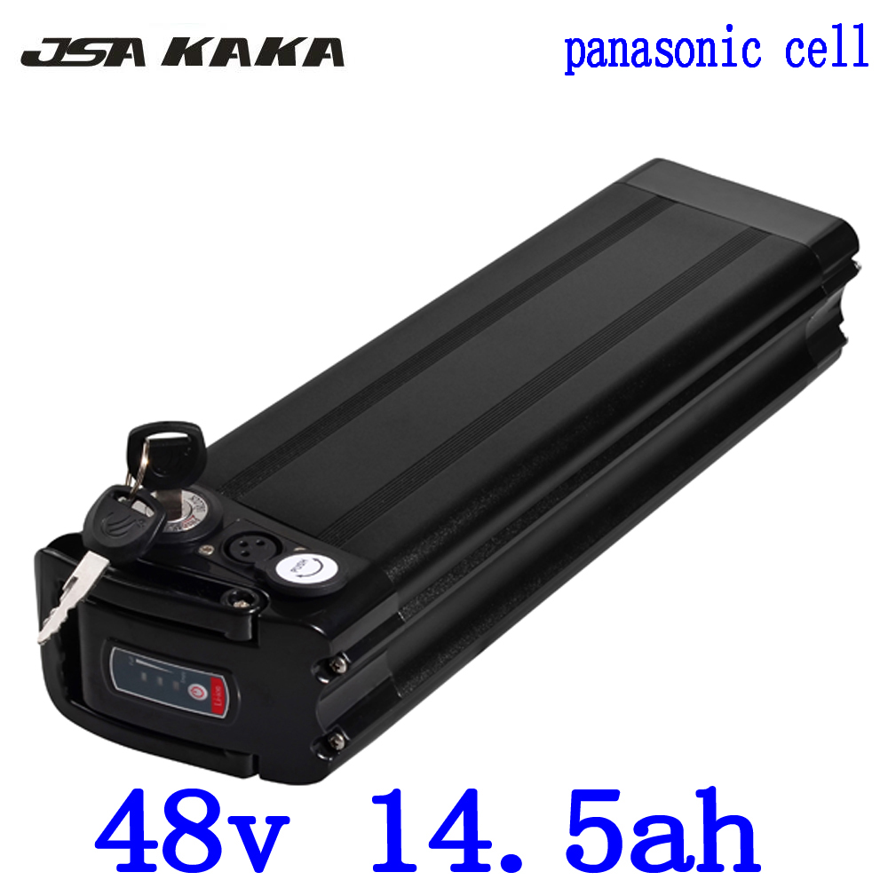 48V 15AH Lithium battery 48V electric bicycle battery use panasonic cell for 500W 750W BBS02 1000W BBSHD Bafang Bicycle Motor48V 15AH Lithium battery 48V electric bicycle battery use panasonic cell for 500W 750W BBS02 1000W BBSHD Bafang Bicycle Motor