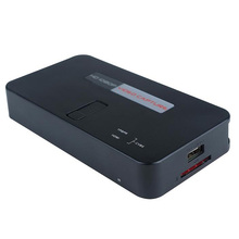 1080P 60fps HDMI Audio Capture card, convert HDMI YPbPr toSB Flash disk, TF Card directly no pc required, Free shipping