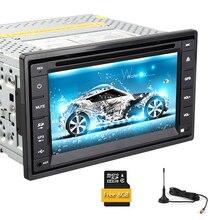 SD USB System Stereo TV Autoradio PC HeadUnit CD GPS Map Car DVD Video MP5 Auto Touch Screen MP4 Radio Sub AMP