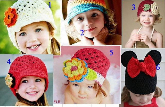 Featured! HANDMADE crochet beanies/caps/hats, knitting cap hat for kids/baby/infants/toddlers/girl