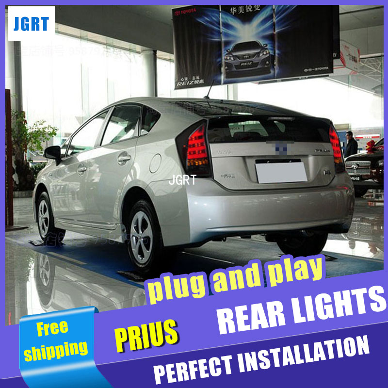 car styling For Toyota Prius taillights 2009-2016 for Prius rear lights dedicated car light led taillight assembly