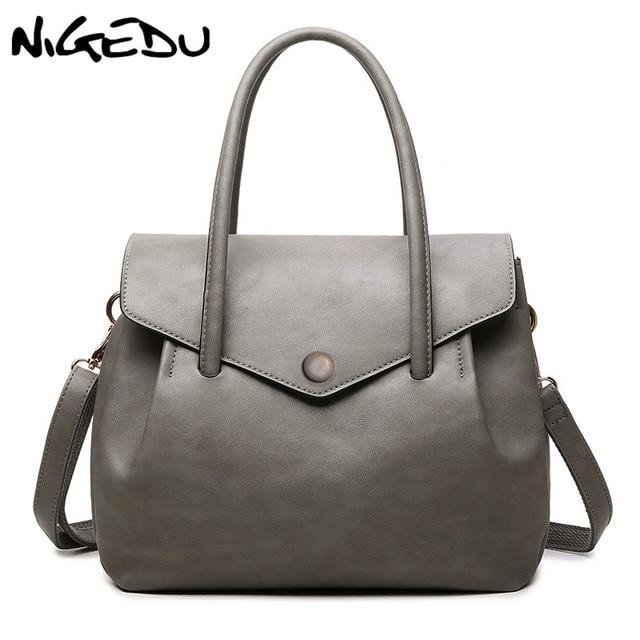 Nigedu Fashion Women Totes Handbag Casual Top Handle Bag Designer Luxury Handbags Shoulder Bags