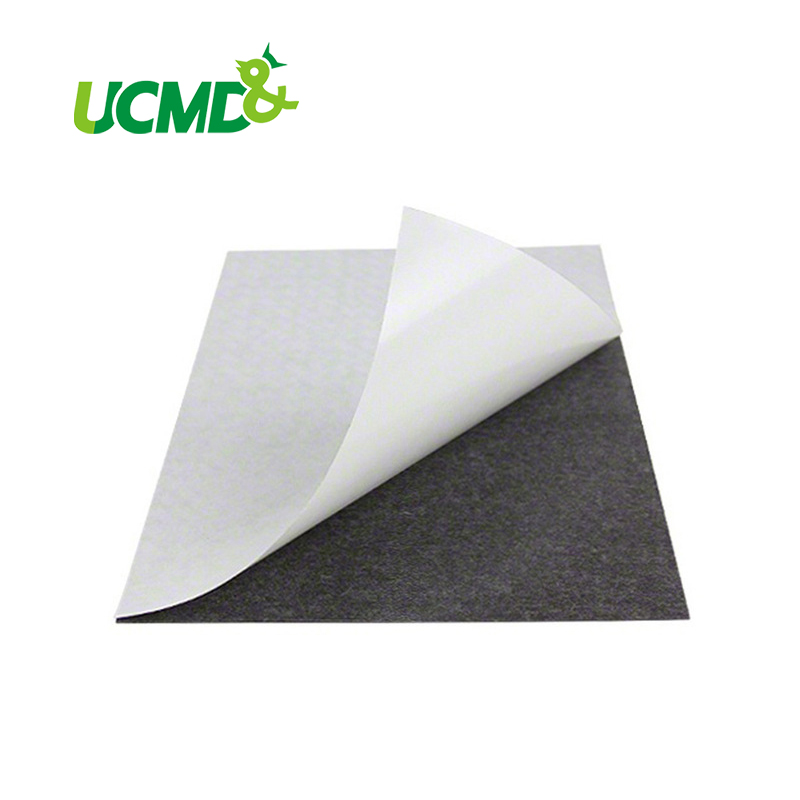Self Adhesive Strong Flexible Rubber Magnetic Sheet 3 Pcs
