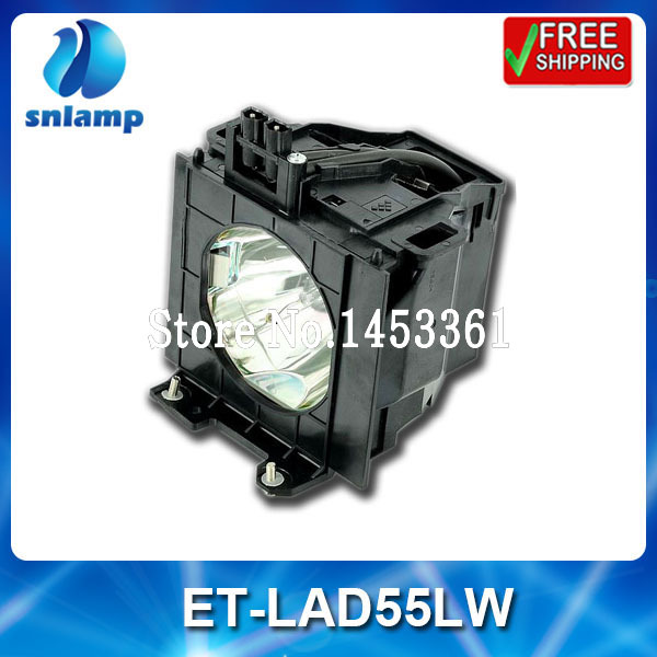 Compatible projector lamp bulb ET-LAD55LW ET-LAD55L for PT-D5500 PT-D5500U PT-D5500UL PT-D5600 PT-D5600U projector lamp bulb et lad55w etlad55w for panasonic pt d5500 pt d5600 pt d560l pt dw5000l pt l5500 pt d5600e with housing