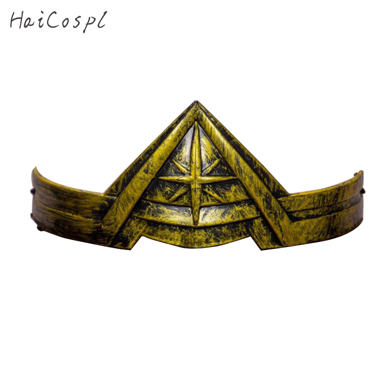 Wonder Woman   Headwear   Women Cosplay Halloween Carnival Party Girls Cool Style Toys Gold Or Gray Disguise