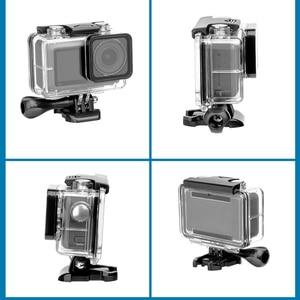 Image 5 - 60M עמיד למים מקרה פעולה מצלמה צלילה מסגרת הגנת דיור כיסוי עבור dji אוסמו פעולה מצלמה אבזרים