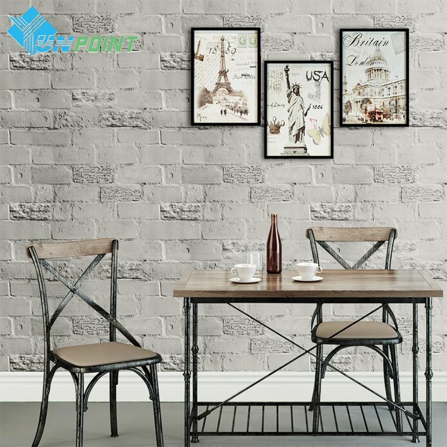 Kərpic özünə yapışan divar kağızı Yaradıcı İngilis - Ev dekoru - Fotoqrafiya 4