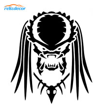 12*14 cm Predator Decal Auto Stickers Waterdicht Vinyl Auto Window Decor Grappige Laptop Decals Wit Zwart L929(China)
