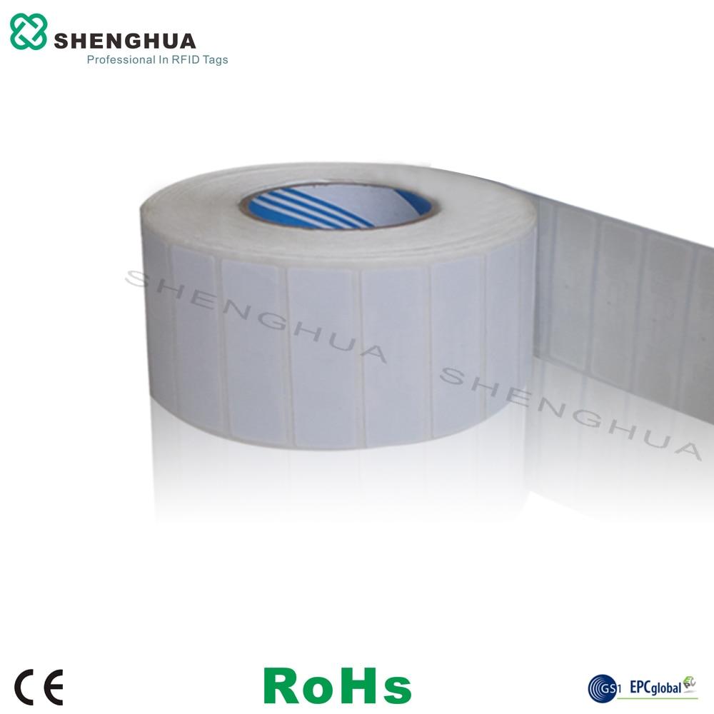 50pcs/lot ISO18000 6C Rewritable Smart UHF RFID Tags Label Sticker Tag Alien 9662 H3 860-960MHz RFID Antenna