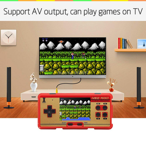 Image 2 - WOLSEN 3.0 inch Retro Portable Family Pocket Game Player RS 20A 8 Bit Mini Console Video game consoleBuilt in 638 Game Best Gift