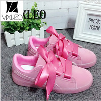 VIXLEO Women S Bow Sneakers Popular Satin Bowknot Running Shoes Cushioning Support Sports Shoes Bowknot Sneakers