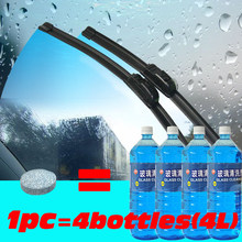 Auto Window Cleaner Car Windshield Cleaning Wash Wiper Effervescent Tablets Car Accessories Glass Cleaner Solid Wiper Fine Clear(China)