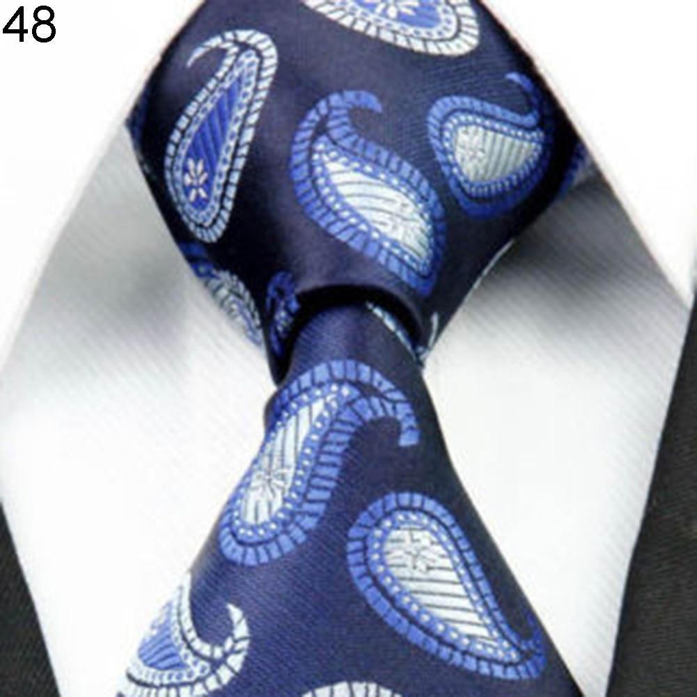 Heat Mens Fashion Dots Flower Soft Tie Necktie Neck Ties Business Suit Accessory