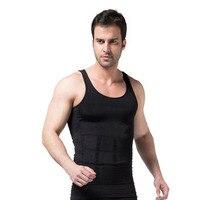 Neue Design männer Weste Control Körper Former Weste Versteckt Bauch bauch Taille Gürtel Hemd Unterwäsche Shapewear S2858