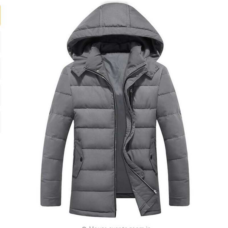 Free Shipping 2017 Men 's Winter Coat Thickening Warm Cotton Clothing To Increase The Feather Cotton Tide Men' s Loose Cotton туфли el tempo el tempo el072awvsd40