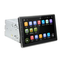 Android 5 1 Quad Core 10 1 Inch Capacitive Multi Touch Screen Double Din Universal Car
