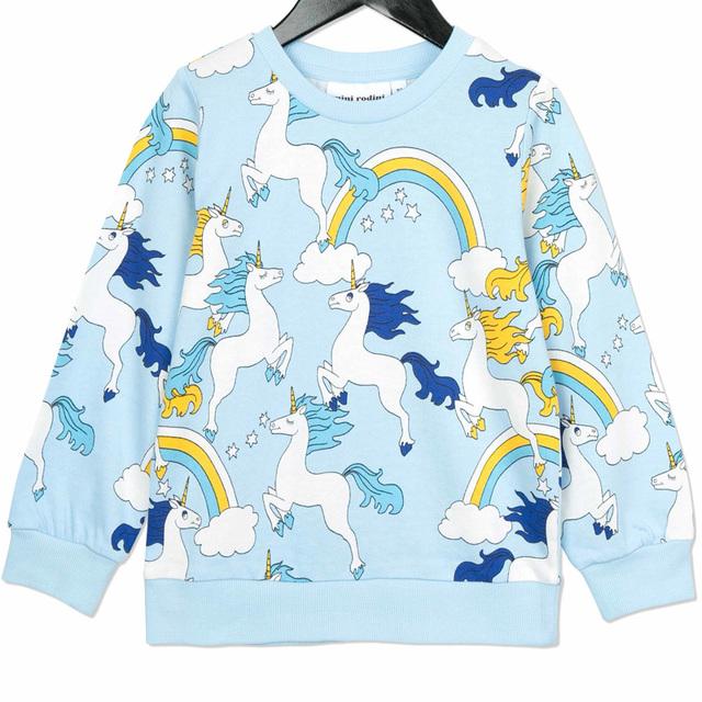 Conjunto de roupas Padrão Unicórnio Pano + Calças Crianças Hoodies Da Criança Da Menina do Menino Vetement Enfant Fille Cicishop Kleding