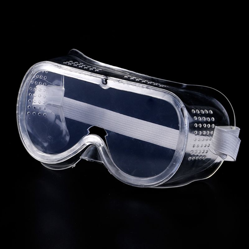 Safety Goggles Vented Glasses Eye Protection Protective Lab Anti Fog Dust Clear For Industrial Lab Work Qiang