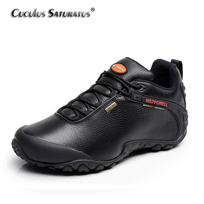 Wateproof Hiking Boots Professional Men Trekking Climbing Mountaineering Shoes Breathable Hiking Shoes Female 224-5