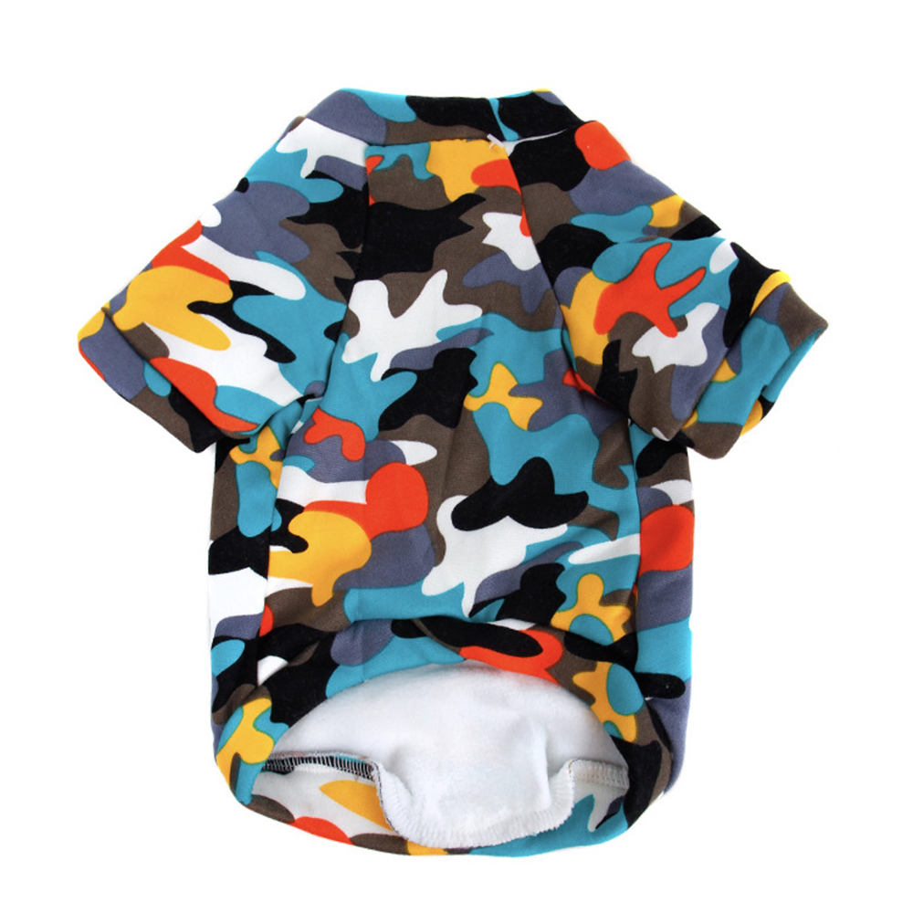 Camouflage Pet Dog Clothes For Dogs Pets Clothing Small Medium Dog Shirts Fashion Winter Pet Hoodies Chihuahua Cat Clothing in Dog Coats Jackets from Home Garden