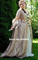 Изготовленное на заказ платье Рококо в стиле колоний 18 век 1700 s Marie Antoinette наряд платье/вечерние платья/платье для мероприятий
