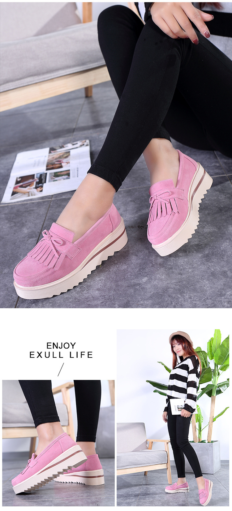 SWYIVY Hollow Platform Women Walking Shoes Breathable 2018 Summer Wedge  Comfortable Solid Color Female Causual Shoe Inner Height US 21.8   pair 8cf10a3b426b