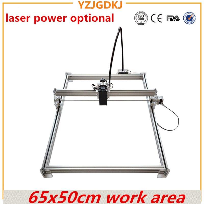 65x50 cm Mini-bureau gravure Laser graveur machine de découpe Laser Graveur CNC imprimer l'image de 50X65 cm marque logo sur le chien tag